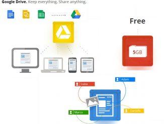 google drive create document